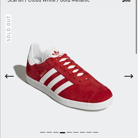 adidas Shoes   Red Womens Gazelle